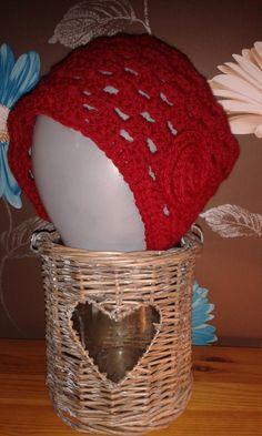 Granny stitch hat by WaveSideCreations on Etsy