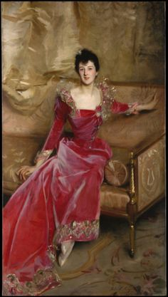 John Singer Sargent, Mrs Hugh Hammersley, 1892 (source).
