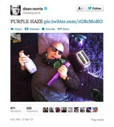 "18 Surprisingly Funny Tweets From ""Breaking Bad""'s Dean Norris  #TeamHank #RIPHank"
