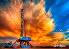 Bob Callender Fine Art offers Artistic and Corporate Oilfield Photography, Drone Photography, Custom Framing, and Rig Images like Fierce Sky. Oilfield Trash, Oilfield Life, Oilfield Baby, Petroleum Engineering, Engineering Technology, Oil Rig Jobs, Oil Platform, Oil Refinery, Drilling Rig