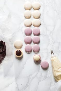 Macarons, Desert Buffet, Pie Cake, Mini Desserts, Nutella, Icing, Deserts, Favorite Recipes, Sweets