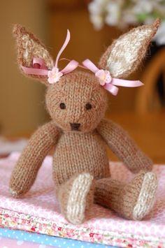 Léopoldine, la lapine.