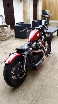 European touch XL's - Page 96 - The Sportster and Buell Motorcycle Forum Sportster Motorcycle, Hd Sportster, Harley Davidson Sportster 1200, Custom Sportster, Harley Bobber, Custom Bobber, Harley Davidson Chopper, Harley Bikes, Custom Harleys