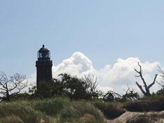 Unterwegs auf dem Rundweg Darßer Ort im Nationalpark Vorpommersche Boddenlandschaft | Leuchtturm am Darßer Ort (c) Frank Koebsch (2)