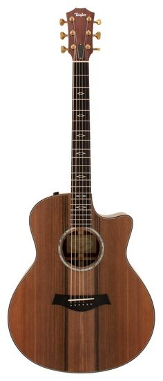 Taylor Custom BTO Grand Symphony Cocobolo with Sinker Redwood Top Acoustic Guitar