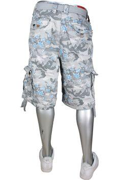 62de913d57a48a Jordan Craig Floral Camo Pattern Cargo Shorts Sz. 32 Snow  35.00
