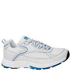 Drew Shoe Womens Athena Athletic ShoeWhiteBlue12 XW US     You can find  more details 9cd013c3f6b