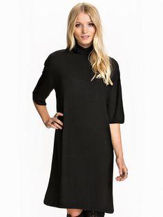 Sftilly 2/4 Campaign Dress Ex - Selected Femme - Svart - Kjoler - Klær - Kvinne - Nelly.com