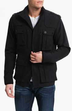 Kane & Unke Cotton Twill Field Jacket available at #Nordstrom