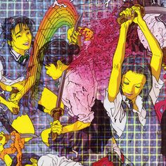 Laurel Halo - Quarantine  Design by Optigram. Artwork by Makoto Aida (The 50 best record sleeves of 2012)
