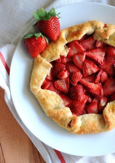 rustic Strawberry Cake