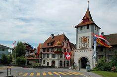 Sempach (Kanton Luzern) - Luzern gate / Luzernertor / Porte de Lucerne
