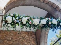 Flowers detail on the Chappel Catering, Floral Wreath, Events, Wreaths, Detail, Flowers, Home Decor, Floral Crown, Decoration Home