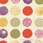 dear Stella Piper Patterned Dots Cream [DS-167-Cream] - $10.45 : Pink Chalk Fabrics is your online source for modern quilting cottons and sewing patterns., Cloth, Pattern + Tool for Modern Sewists