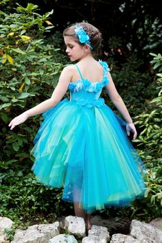Silvermist Fairy Tutu Dress Costume by EllaDynae, $210.00 #disney #tinkerbell #wings