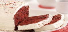 Sandra Lee: Red Velvet Pound Cake-super simple recipe, but sounds incredible. This is your go to at short notice. Pound Cake Recipes, Cupcake Recipes, Cupcake Cakes, Dessert Recipes, Pound Cakes, Fun Foods To Make, Delicious Desserts, Yummy Food, Candy Cakes