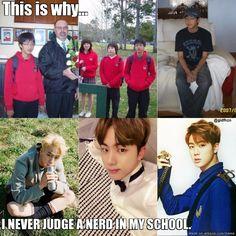 Never judge a nerd. N.E.V.E.R !