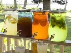 This is a great idea for serving drinks in large quantities