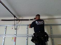 tips to consider when replacing broken garage door spring how to fix a broken garage - How To Replace Garage Door Springs