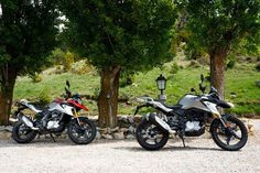 2018 bmw g310gs static group