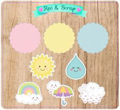 Rainbow Cloud, Baby Shower, Printable Banner, Unicorn Birthday Parties, Holidays And Events, Scrap, Pastel, Clip Art, Clouds