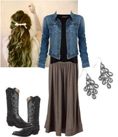 """""""Cowgirl"""" by coramdeo ❤ liked on Polyvore"""