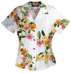 Rain White Hawaiian Women's Peplum Blouse  #jesussandal #flipflop #jesus #jesussandals #palihawaii #sandal