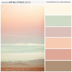 Color Palette: Indian Summer // ericaperebijnos.com // #branding #desertcolors #eventdesign #eventbranding:
