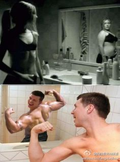 difference in male and female body image. True.