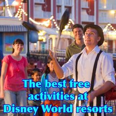 The best free things to do at Disney World resorts