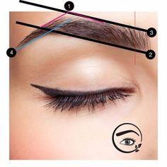 Eyebrow Game, Eyebrow Makeup, Hair Makeup, Beauty Tips Blog, Beauty Hacks, Makeup Tools, Makeup Products, Eyebrow Embroidery, Makeup Before And After