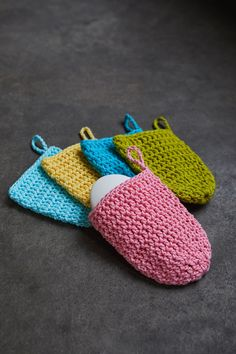 Soap Sack (Free crochet pattern)
