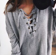Imagen de fashion, outfit, and grey