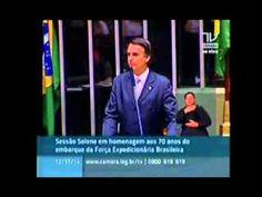 Bolsonaro desmascara PT e é  aplaudido no plenário