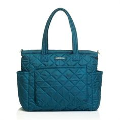 @rosenberryrooms is offering $20 OFF your purchase! Share the news and save! Carry Love Tote Diaper Bag in Teal #rosenberryrooms