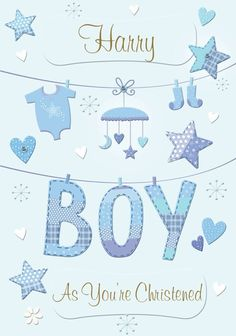 Personalized Greeting Cards, Personalized Baby, New Baby Greetings, Christening, New Baby Products, Create, Unique