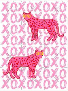 Cheetah Xoxo Art Print by Julia Santos