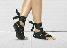 """""""Barre Socks"""" by Nike -- SO cute!"""