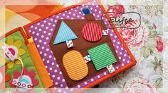 Мастерская Elifçe : Развивающая книжка №26 для самых маленьких!