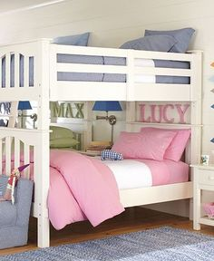 gingham does seem to work well for boy/girl shared bedrooms . . . toddler-room