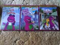 Barney Spanish DVD Lot