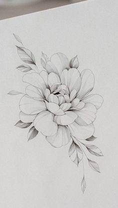 Flower Hip Tattoos, Flower Tattoo Drawings, Tattoo Sketches, Cute Finger Tattoos, Cute Tattoos, Beautiful Tattoos, Dibujos Tattoo, Desenho Tattoo, Floral Tattoo Design