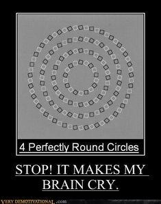 It does make my head hurt!