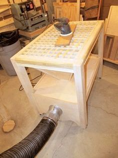 How To Build A Diy Downdraft Table Garage Workshop
