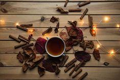 Flatlay autumn fall and light HD photo by Joanna Kosinska