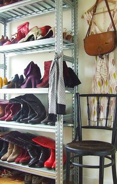 Boot/shoe storage!! lol
