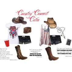 Designer Clothes, Shoes & Bags for Women Country Concerts, Country Music, Country Outfits, Country Girls, Ashley Clothes, Red Party, Cowgirls, Thunder, Style Me