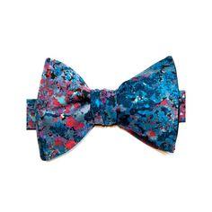 Blue Renoir Bow Tie - Le Colonel Moutarde