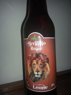 Prima bottiglia di Leone I.P.A.
