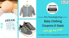 Get the latest kids clothes coupon codes, promo codes & amazing shopping #deals at couponalbum.com
